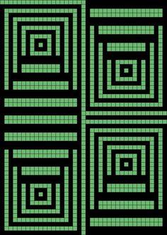 Вязание крючком - Филейное вязание - Схемы к абстрактной филейке. Обсуждение на LiveInternet - Российский Сервис Онлайн-Дневников