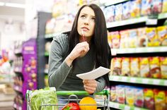 Grocery shopping is very important to when it comes to weight loss and doing it right can surely save you from some weight gain. The following list elicits a few elements of calories and high nutritional value. Beware to always check the labels for a number of calories and fats. Take notes of the first basic foods that you need for the household and categorize each element by health and nutritional value as you copy everything down. Here's an example of how you can do it: