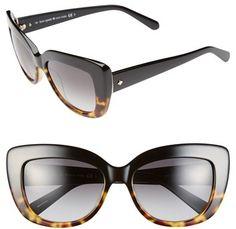 bdc89a53d5 Kate Spade 55mm Cat Eye Sunglasses on shopstyle.com Kate Spade Sunglasses