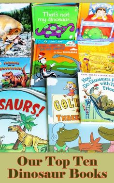 Our Top Ten Dinosaur Books for Preschoolers