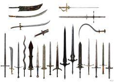 Dark Souls swords by Bringess.deviantart.com on @deviantART
