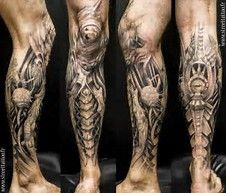 Image result for Robotic Tattoo Sleeve