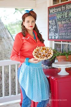 at the one and only Royer's Pie Haven in Round Top, Texas