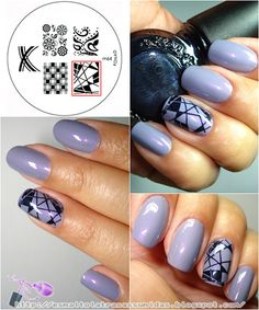 Konad M64, i ave it on my nails right now. LOVE IT!! mint green background with white detailing.