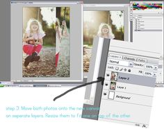 how to fake a double exposure in photoshop