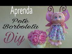 Porta Toalha Borboleta/ Elisangela Motta - YouTube
