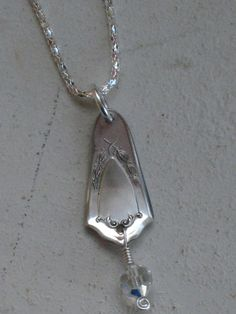 Mother's Day  Wouldn't mom just love this beautiful upcycled silverware necklace? Its not too late to order!  $18  www.laughingfrogstudio.etsy.com