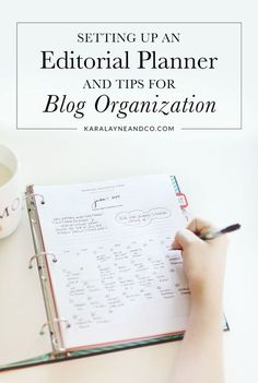 Setting up an editorial planner for organisation Blog Organisation, Planer Organisation, Business Organization, Web Design, Blog Design, Planners, Blog Planning, Travel Blog, Branding