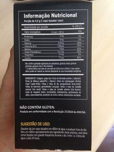 T_Sek da Power Supplements - Informação Nutricional