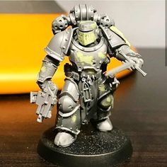 Alessandro Masetti (@the_forge_of_souls) • Instagram photos and videos Warhammer Games, Warhammer Figures, Warhammer Models, Warhammer 40k Miniatures, Warhammer 40000, Warhammer Dark Angels, Legion Characters, The Horus Heresy, Space Wolves