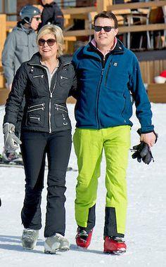 Prins Constantijn en Prinses Laurentien. Lech 22 februari 2016