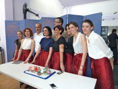 Masterchef cup cakes for Maison Valentino - Le vetrine del cambiamento