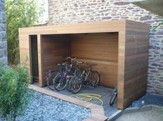 Shed Plans - Abri vélo en bois - Now You Can Build ANY Shed In A Weekend Even If You've Zero Woodworking Experience!
