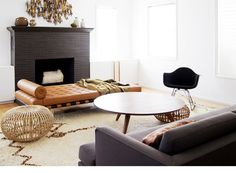 D E S I G N - MORGAN SATTERFIELD  I love love that coffee table.