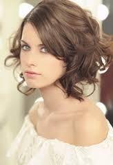resultado de imagen para peinados para bodas pelo corto