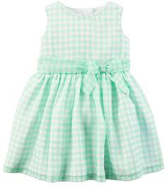 Carter's Baby Girl Carter's Gingham Bow Dress