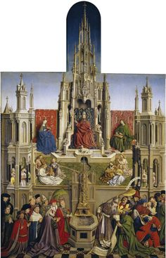 koredzas:   After Jan Van Eyck - The Fountain of... - for the artistic soul