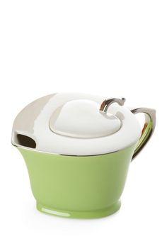 Inside Out Heart 32 oz. Teapot - Lime Green/Platinum   by Yedi Houseware on @HauteLook