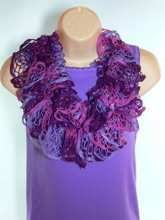 Lacey  Sashay  Scarf  Accessories  Multicolor   by SteppingInStyle, $20.00