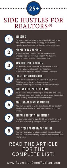 Impressive list of over 25 ways to make money as a real estate agent Are you looking to add new income streams to your real estate business? Check out this list of ways to make money as a real estate agent. Real Estate Career, Selling Real Estate, Real Estate Tips, Real Estate Investing, Real Estate Broker, Real Estate Memes, Real Estate Office, Real Estate Courses, Real Estate License