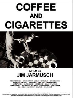 a all movie in a perfect graphic balance #JimJarmusch #CoffeeandCigarettes
