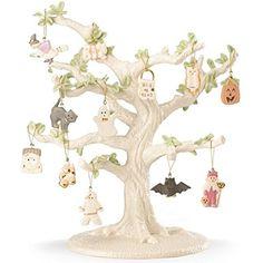 Lenox Trick or Treat Tree and Ornament Set