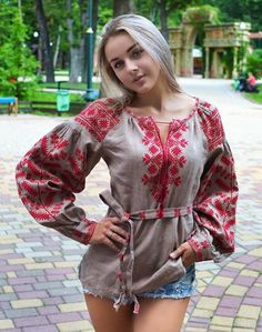2020 Ukrainian vyshyvanka blouse, Ukrainian embroidered blouse , Vyshyvanka bohemian ethnic shirt boho chic peasant top,GIFT FOR EASTER Most Beautiful Faces, Gorgeous Women, Elegant Woman, Boho Chic, Ukraine Women, Sexy Women, Girl Fashion, Womens Fashion, Beauty Full Girl
