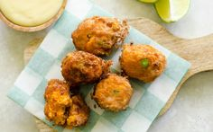 Sweet Potato and Bacon Croquettes