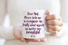 Beautiful Morning Prayer Mug  Lifestyle Quote by Exaltation