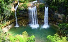 Beautiful Waterfall Background