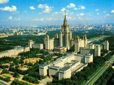 Although the Communist Party (not Marxism) is one of the worst thing on Earth, the Stalinist classism still fascinates me in terms of architecture - Moscow State University, Moscow, Russia