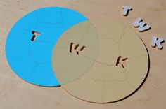 Puzzle Wedding Guest Book, 50 Pieces, Use Your Colors & Initials
