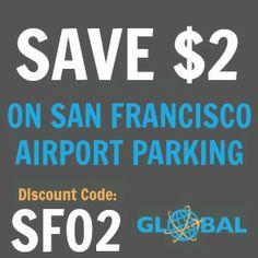 SFO San Francisco Airport Parking Coupon