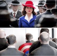 Captain America and Peggy Carter Dc Memes, Marvel Memes, Marvel Dc Comics, Marvel Avengers, Capitan America Chris Evans, Chris Evans Captain America, Agent Carter, Tom Holland, Ironman