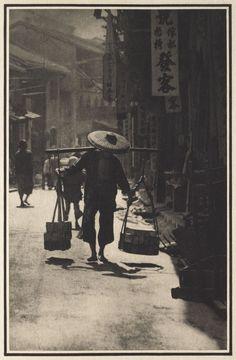 Adolf De Meyer A Street in China