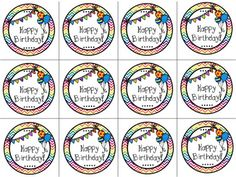 Literacy Spark: Happy Birthday Pencil toppers FREEBIE