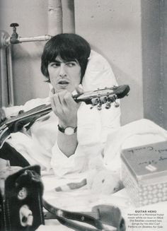 George Harrison in Montreal, 1964