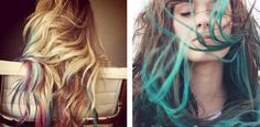 DIY: Dip-Dyed Hair Styling