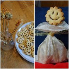 Lisis Gadaladaleller News: Lachende Kekse und ein (B)engelchen  - how to make a nice angel from a  teabag and smiling cookies