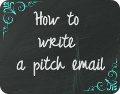 Pitch email graphic