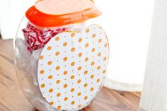 DIY: Repurpose a Laundry Pod Container to Corral Clutter!