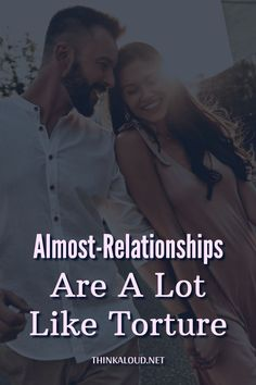 You know that special friend who isn't really a friend, but you're not sure whether he's more or less than a friend? It's the person who makes you realize that almost-relationships are tantamount to torture.
