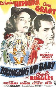 Cary Grant Bringing Up Baby, 1938