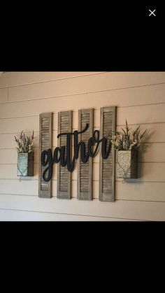 Large Southern Farmhouse Chic Gather Sign You Pick The