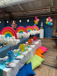 Tru and the rainbow kingdom for the sweetest baby girl Trolls Birthday Party, Unicorn Birthday Parties, Birthday Party Themes, Birthday Ideas, Care Bear Party, Care Bear Birthday, Rainbow Party Decorations, Rainbow Parties, Rainbow Centerpiece