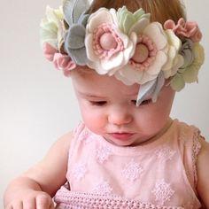 Pale Pastels Seasonal Crown - Flora & PEG