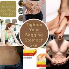 DIY Recipe – How To Tighten Sagging Belly Skin – Bath and Body #ClayFaceMask