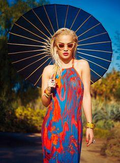 Rita Ora «InStyle» 2015