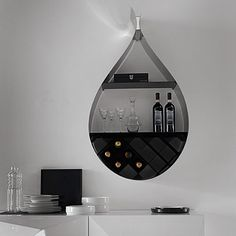 hanging wine bar