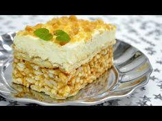 Ciasto Lion bez pieczenia + film - Jak zrobić - Smakowite Dania